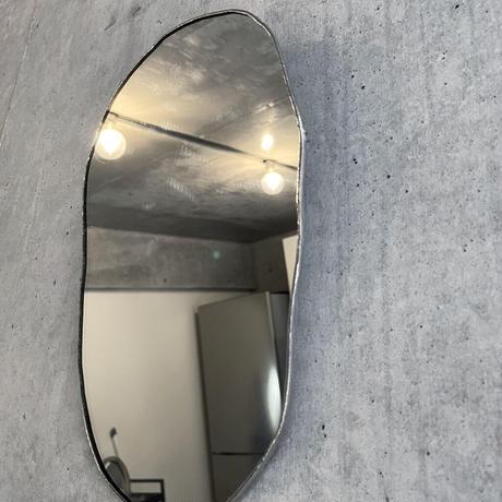 【11月中旬出荷予定】水たまりのような形をしたウォールミラー|WALL MIRROR|W170×H265