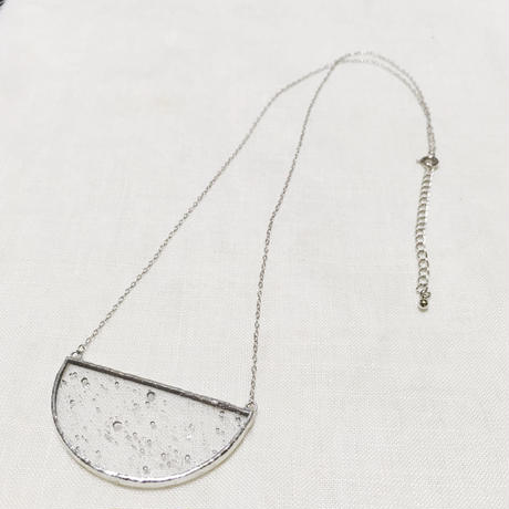 【doro】SEMI CIRCLE NECKLACE |clear bubble