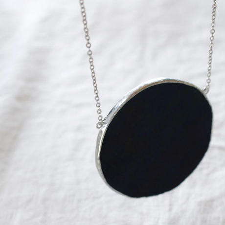 【doro】CIRCLE NECKLACE  / BLACK