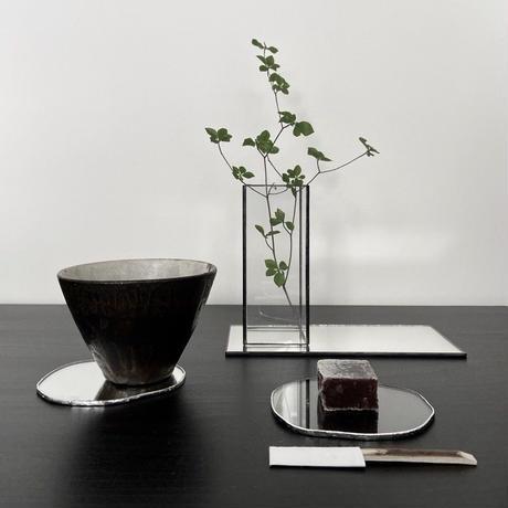 【4/5再入荷】水たまりのような形をした豆皿コースター【S】3種類