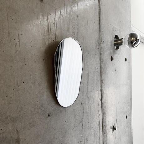 【4/15再入荷】水たまりのような形をしたウォールミラー WALL MIRROR W170×H265