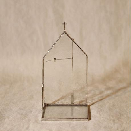 CHURCH CANDLE HOLDER