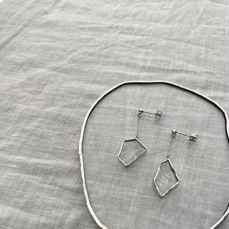 KAKERA HANGING PIERCE /EARRING【S】 イヤリングピアス ●金具選べます