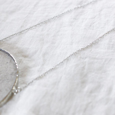 【doro】CIRCLE NECKLACE  / CLEAR -bubble