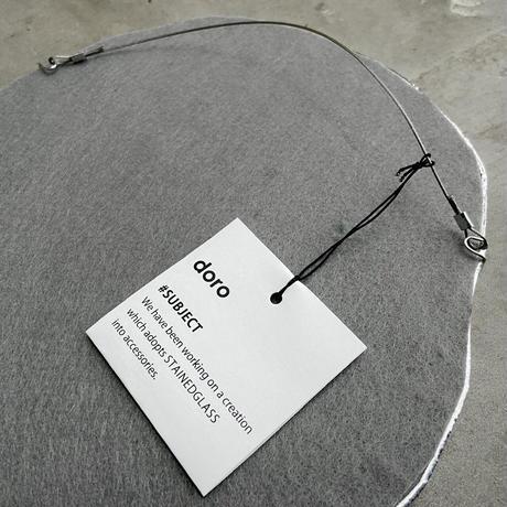 【NEW】水たまりのような形をしたWALL MIRROR / SIZE 200×200 /mm