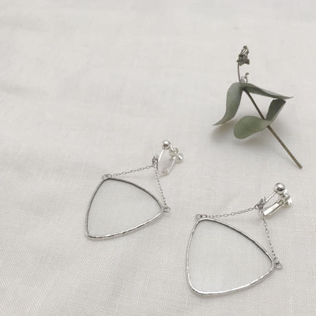 【doro】BARANCE PIERCE & EARRINGS | CLEAR