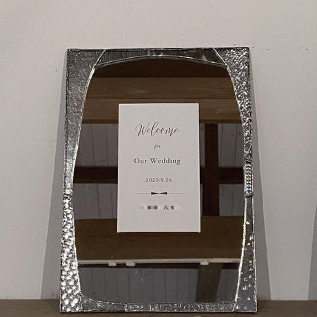 WELCOME BOARD・WALL MIRROR | A4 SIZE