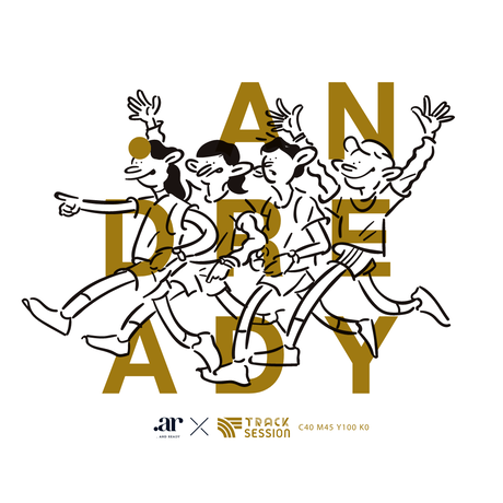 Runners color T-shirts #03 TRACK SESSION【3/14受注締切分】