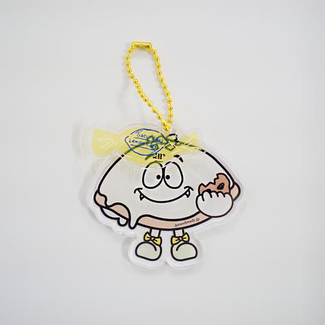 オリジナルキャラクター レモンケーキちゃんキーホルダー(ダブル)