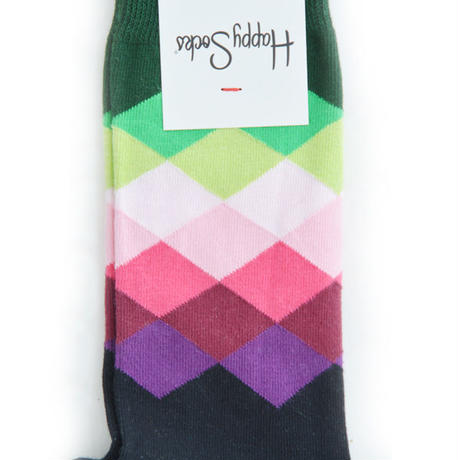 Happy Socks Faded Diamond Sock (MENS)