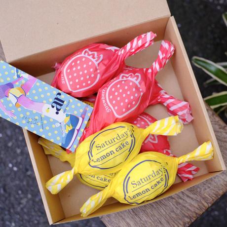 《エリア限定》レモンケーキ ✕ いちごケーキの8個入りBOX