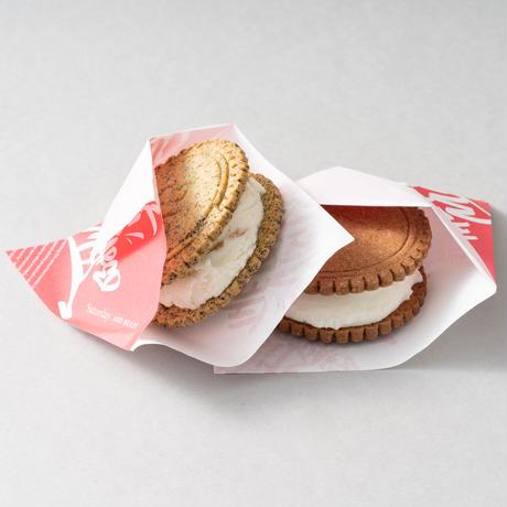 《送料無料》アイスサンドクッキー4個セット【10/5 11:59締切】