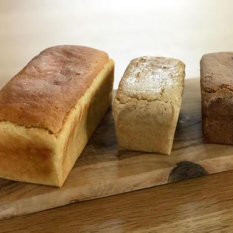 ひよこ豆ブレッドL1個とホワイトソルガム・しこくびえブレッドのS2 個セット