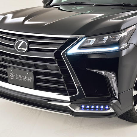 LX570 M/C After DOUBLE EIGHT Front Half Spoiler