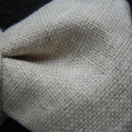 Flat Butterfly Tie (BEIGE)