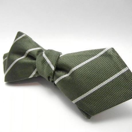 Peaked Butterfly Tie (Silk100%) GREEN