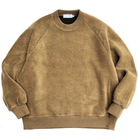 Graphpaper  Wool Boa Crew Neck
