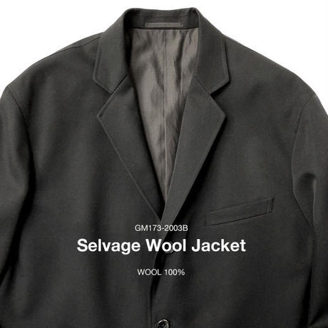 Graphpaper  Selvage Wool Jacket