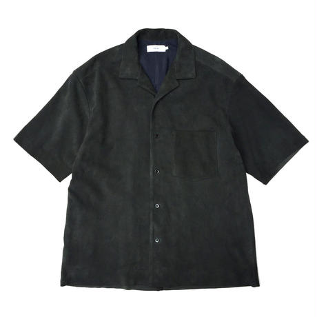 Graphpaper  Suede Open-necked Shirt