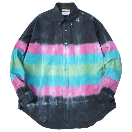 F U T U R × Graphpaper TIE-DYED OXFORD L/S B.D BOX SHIRT