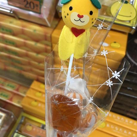 みきゃんマスコット付キャンディ(4本入