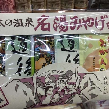 【日本の温泉 名湯みやげ】入浴剤5包入