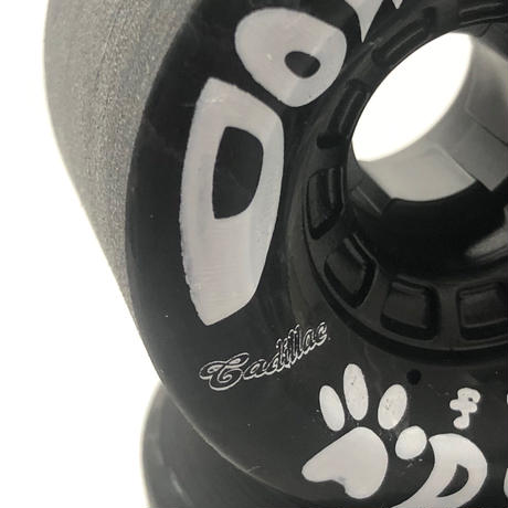 "DOWNCHILL wheel ""for DOG"" Black 66mm 76a"