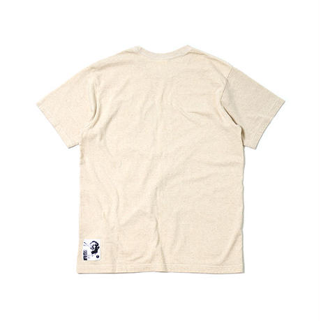 "S/S HEMP COTTON TEE ""COLORS"""