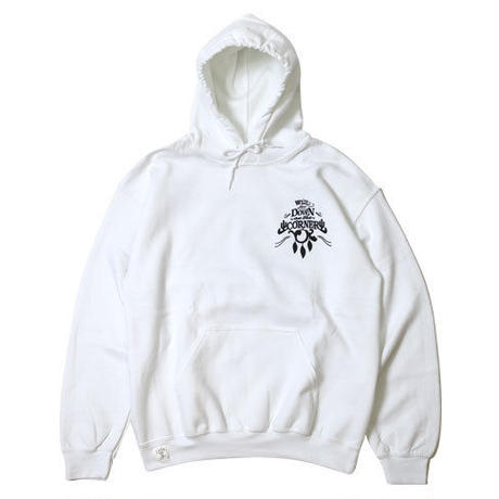 "HOODED SWEAT PARKA ""GOOD LIFE"""
