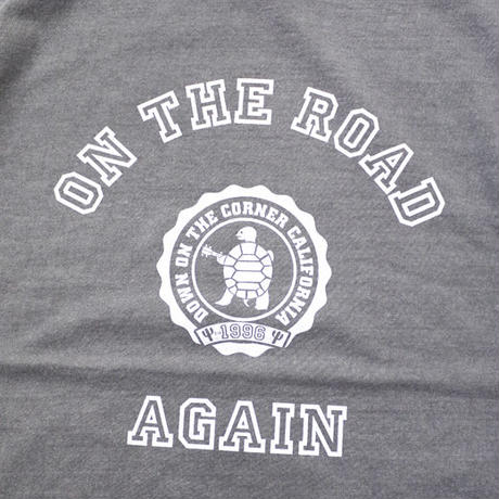 "S/S TEE ""ON THE ROAD AGAIN"""