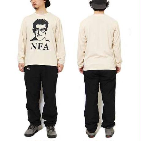"L/S HEMP COTTON TEE ""NFA"""
