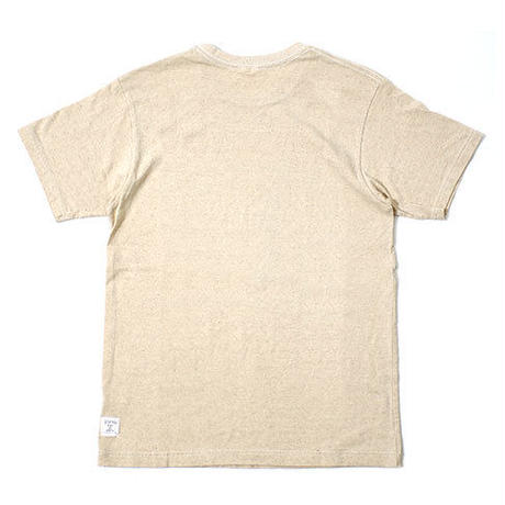 "S/S HEMP COTTON TEE ""HOW ARE YOU"""