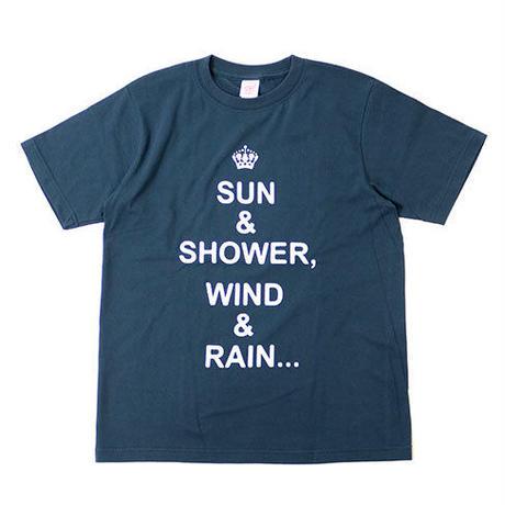 """S/S TEE """"SUN & SHOWER"""""""