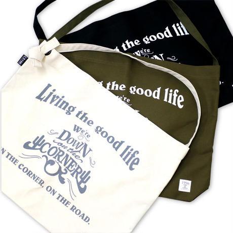 """DOWN ON THE CORNER / CRANK - RING SHOULDER LARGE """"GOOD LIFE"""""""