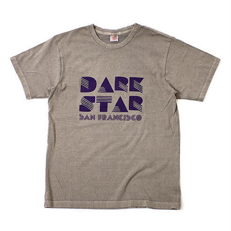 "S/S HEMP COTTON TEE ""DARK STAR"""