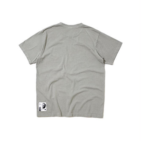 "S/S HEMP COTTON TEE ""JCY ON THE ROAD"""