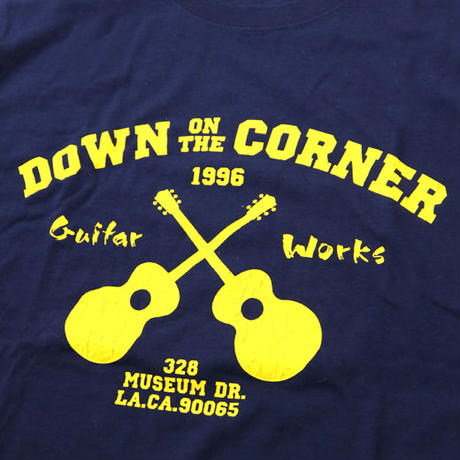 "DOWN ON THE CORNER/GOOD ENOUGH - S/S TEE ""GUITAR WORKS"""
