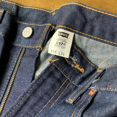 Levi's 517 90s deadstock(one wash)