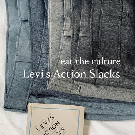 Levi's Action Slacks_ 1.black