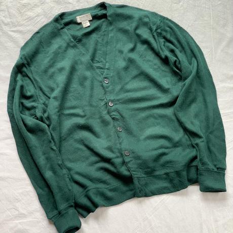 [XL]Acrylic cardigan_80-90s USA