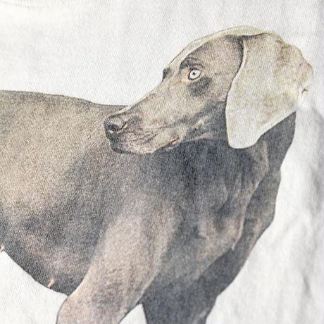 [L]Dog Tee Vintage / William Wegman