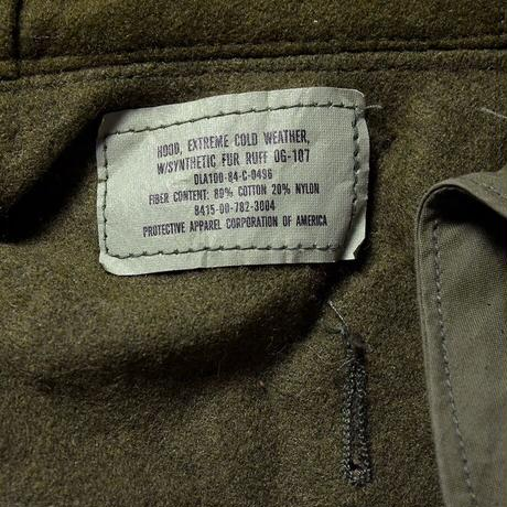 [hood]m65 parka vintage_deadstock