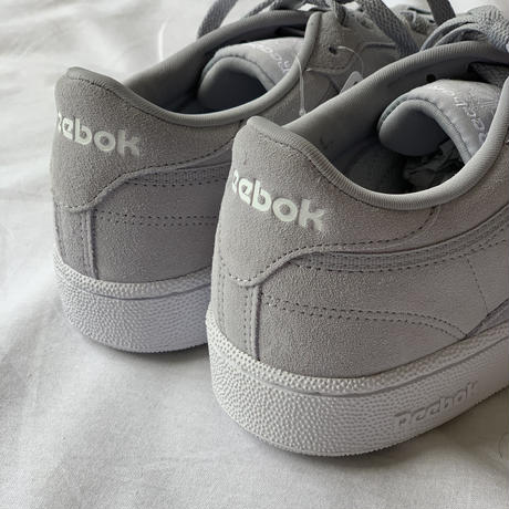 [Reebok CLUB C] Greige Natural Leather Edition