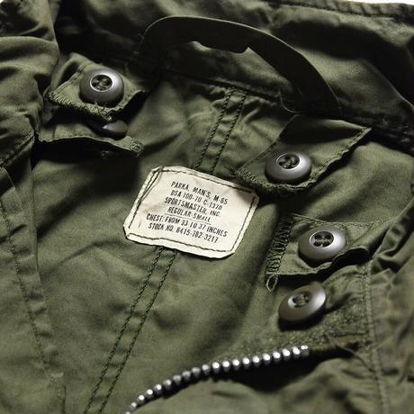 [S] m65 parka vintage_deadstock silver zip_no.20