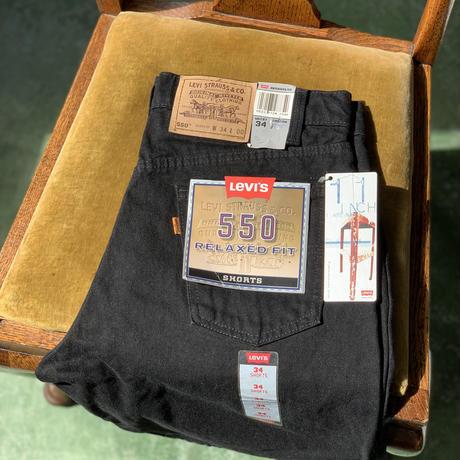 Levi's 550 sulfa black dye 90s deadstock