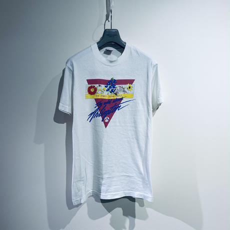 [M]Fruits of the room Print Tee 90s_used good condition