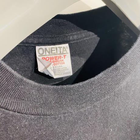 [XL]ONEITA Vintage Print Tee_used good condition