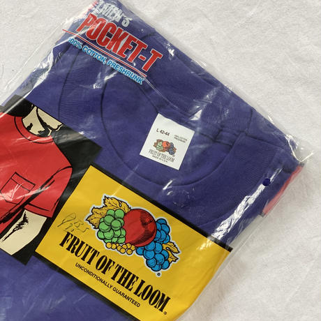 [L]Vintage Poket Tee / Fruits of the room
