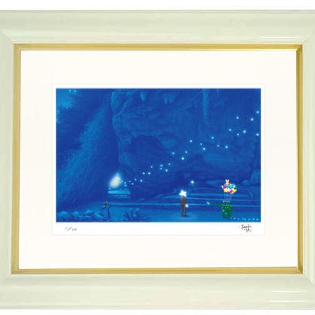 【ジークレー版画/インチサイズ】「斎場御嶽」〜『スターリィマンと旅する沖縄の世界遺産を巡る9つの物語』より〜