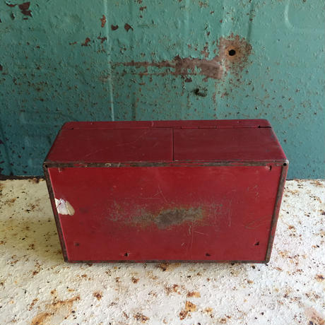 RED SAVING MONEY BOX